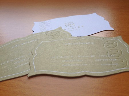 Ancaire Business Cards