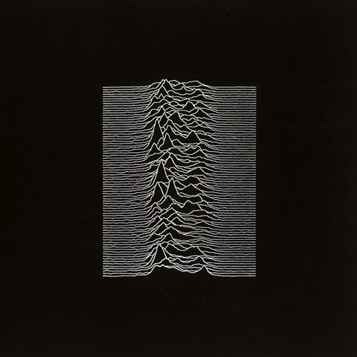 Joy Division–Unknown Pleasures (Factory Records, 1979)