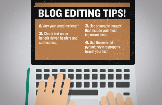 Blog editing tips for refreshing your blog.